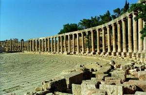 Romeinse overblijfselen Jordanië