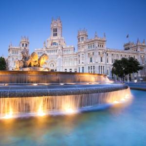 Hoofdstad van Spanje