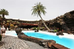Jameos del Agua op Lanzarote