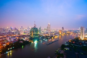 Hoofdstad Bangkok