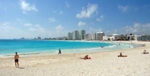 Kustlijn Cancun