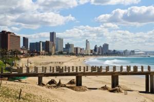Strand van Durban