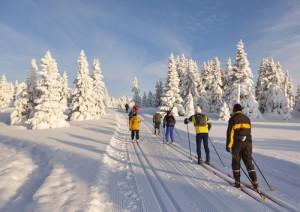 Langlaufen in Noorwegen